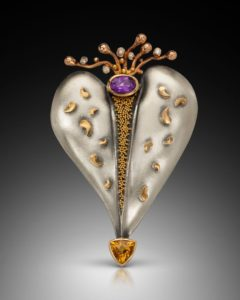 Submission by Cornelia Goldsmith for the together American Jewelry Design Council Project