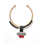 "Linda MacNeil Necklace ""Neck Collar 30 17"""