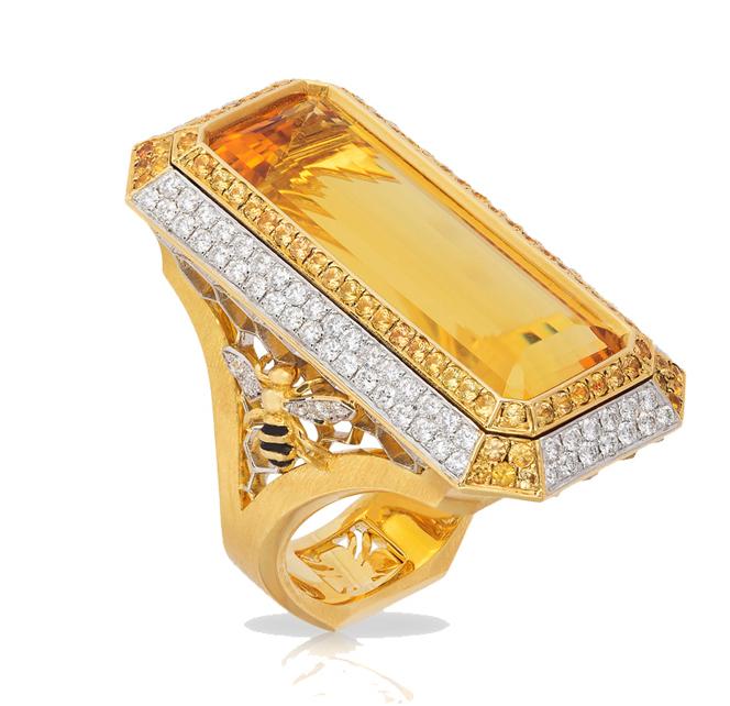 Heliodor Honey Ring