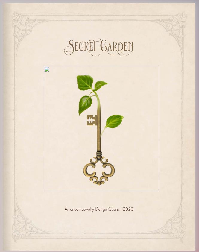 Secret Garden Flipbook Cover